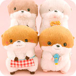Kotsume Otter Home Party 14cm Plush