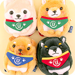 Amuse Mameshiba Pup Backpack Pouch