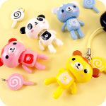 Kawaii Sweet Bear Lolly Phone Charm
