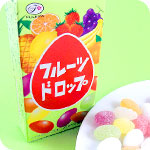 Fujiya Japanese Candy Fruit Drops
