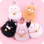Amuse Hige Manju Cat Reel Pouch