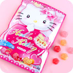 Senjaku Hello Kitty Sakura Fruit Candy