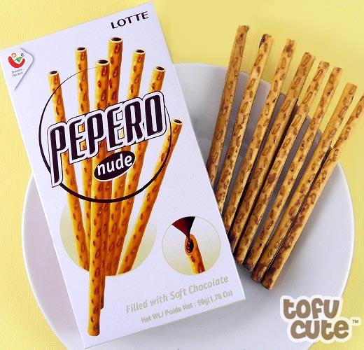LOTTE Pepero Nude Chocolate 50g - My Snakku