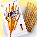 Lotte Pepero Nude Choco Biscuit Sticks