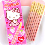 Hello Kitty Strawberry Biscuit Sticks