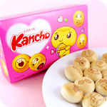 Lotte Kancho Love Biscuits - Chocolate