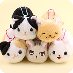 Amuse Tuchineko Cat Emotions Keychain