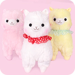 Alpacasso Furi Furi Frilly Giant Plush