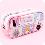 Kawaii Zipped Case - Sunday Rabbit