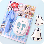 Kawaii Penguin Bento Rice Ball Kit