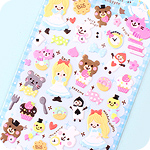 Kawaii Sponge Stickers - Alice in Wonderland