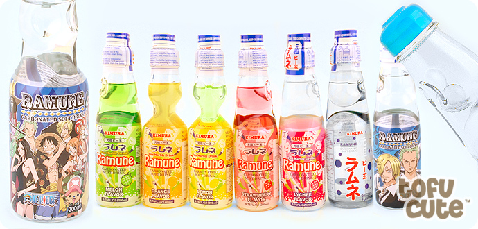 Ramune Japanese Soda - One Piece