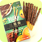 Glico Japanese Pocky Trinity - Orange Peel