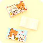 Character Bubblegum Set of 3 - Rilakkuma