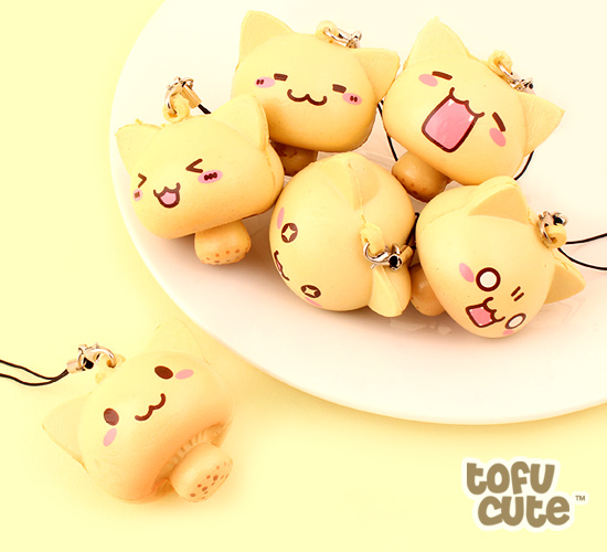 Awesome Buy Kawaii Squishy Mushroom Cat Charm At Tofu Cute Download Free Architecture Designs Terstmadebymaigaardcom
