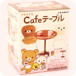 Re-Ment Rilakkuma Café Table & Chairs