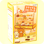 Re-Ment Rilakkuma Display Cabinet