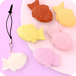 Squishy Scented Taiyaki Phone Jack