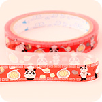 Kawaii Deco Tape - Chinese Panda Chef