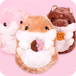 Korohamu Hamster Cafe Giant Plush
