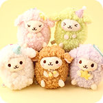 Amuse Baby Wooly Goodnight Keychain