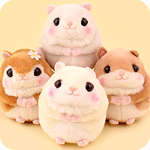 Amuse Flying Squirrel Peach-Kun Small Plush