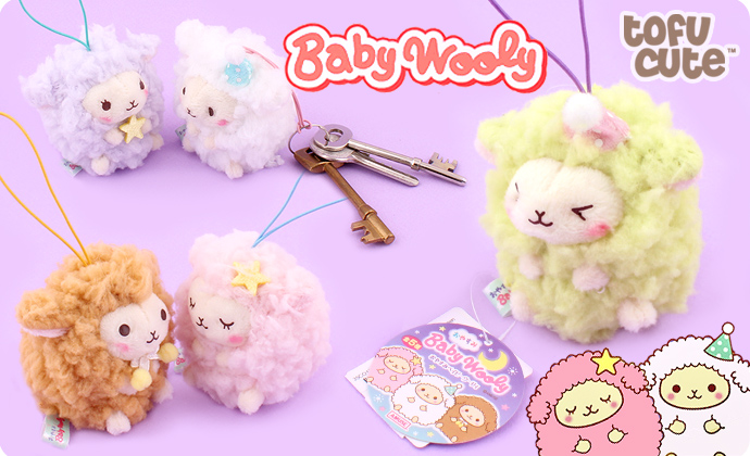 Buy Authentic Amuse Baby Wooly Sheep Goodnight Plush Charm At Tofu Cute