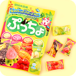 Puccho Mixed Fruits Bagged Chewy Candy
