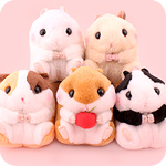 Korohamu Hamster Friends 13cm Plush