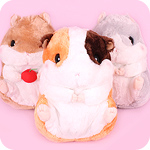 Korohamu Hamster Friends Giant Plush