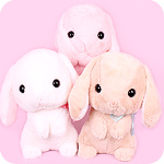 Poteusa Loppy Bunny Begging Giant Plush