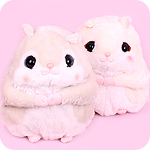 Amuse Flying Squirrel Peach-Kun Giant Plush
