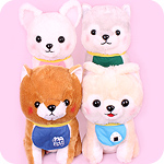 Amuse Mameshiba Pup Lullaby Giant Plush