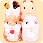 Korohamu Hamster Friends JB Med Plush