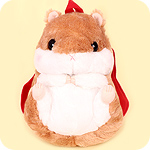 Korohamu Hamster Plush Backpack