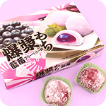 Mochi Rice Cakes Box of 6 - Blueberry