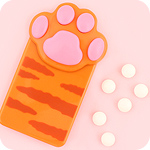 PuniPuni Paw Tablet Candy Dispenser
