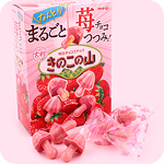 Giant Kinoko no Yama Strawberry Biscuits