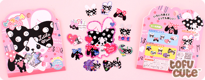 Kawaii Scented Sticker Sack - Little Mui