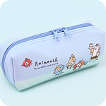 Kawaii Zipped Case - Animal Food Dress Up