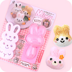 Kawaii Bunny Face Bento Rice Ball Kit
