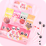 Funny Eyes Bento Food Picks Set