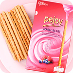 Glico Pejoy Reverse Double Berry Sticks