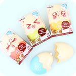 Kawaii Egg Correction Tape With Face Stickers