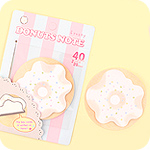 Doughnut Sticky Notes - Frosty Vanilla