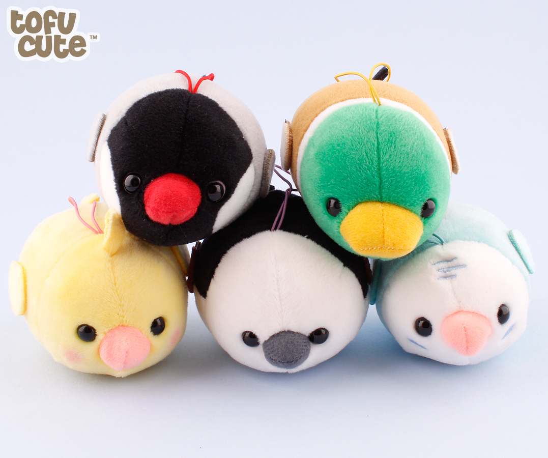 Buy Authentic Amuse Kotoritai Bird Tsumeru Mochikko Charm At Tofu Cute-9195
