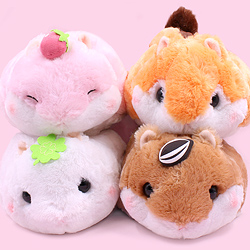 Korohamu Round Friends Medium JB Plush