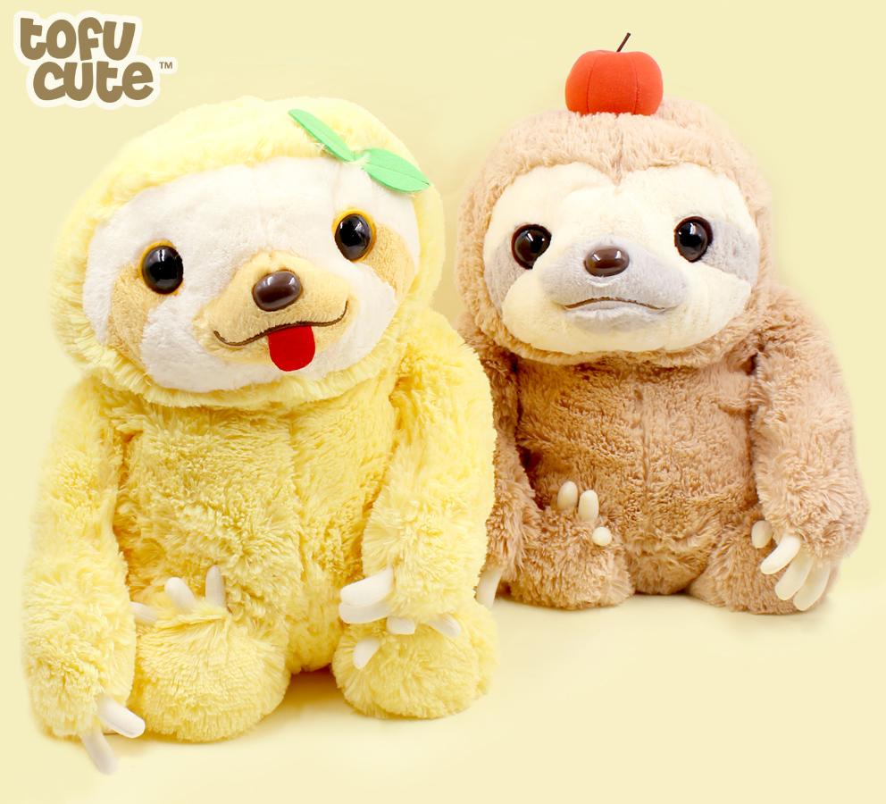 Buy Authentic Amuse Namakemono Sloth Nakayoshi Buddies Giant Plush