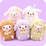 Amuse Baby Wooly Goodnight 14cm Plush