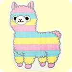 Amuse Rainbow Alpacasso Floor Mat